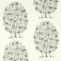 Anaar Tree Fabric - Charcoal