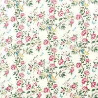 Andhara Fabric - Rose / Cream
