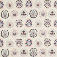 Daula Fabric - Blush / Dove