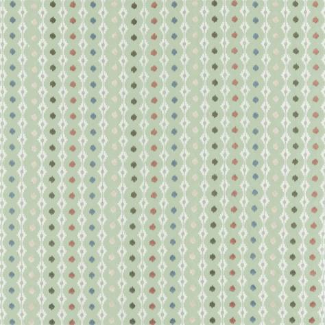 Sanderson Caspian Prints and Embroideries Mossi Fabric - Sage - 236889 - Image 1