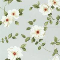 Poet's Rose Fabric - Scotch Grey