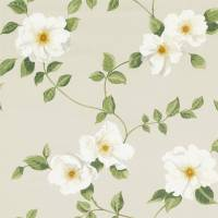 Poet's Rose Fabric - Linen