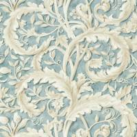 Tilia Lime Fabric - Soft Teal