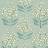 Bellis Fabric - Blue Clay
