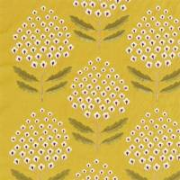 Bellis Fabric - Woodland Yellow