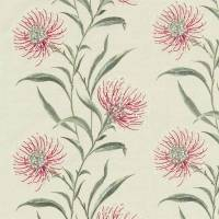 Catherinae Embroidery Fabric - Fuchsia
