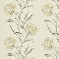 Catherinae Embroidery Fabric - Hay