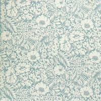 Meadow Fields Fabric - High Sea