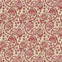 Wycombe Fabric - Strawberry/Linen