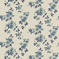 Wisely Fabric - Indigo/Linen