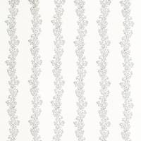 Sparkle Coral Embroidery Fabric - Jet/Ivory