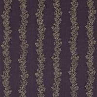 Sparkle Coral Embroidery Fabric - Gold/Purple