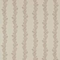 Sparkle Coral Embroidery Fabric - Copper/Linen