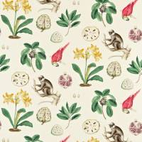 Capuchins Fabric - Emerald