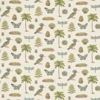 Cocos Fabric - Multi/Ocean