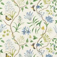 Clementine Fabric - Delft Blue