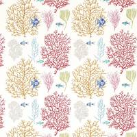 Coral & Fish Fabric - Tropical/Brights