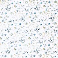Orchard Blossom Fabric - Blue