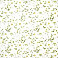 Orchard Blossom Fabric - Lemon/Green
