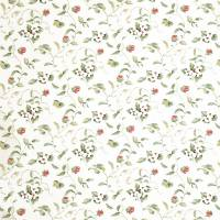 Orchard Blossom Fabric - Pink/Fennel
