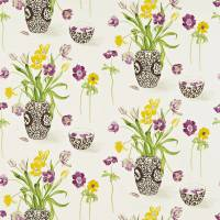 Painters Garden Fabric - Citrus/Blackcurrant