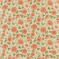 Rosalie Fabric - Linen/Rose