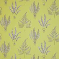 Woodland Ferns Fabric - Chartreuse