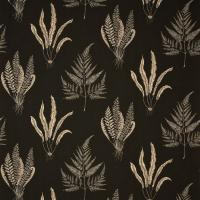 Woodland Ferns Fabric - Charcoal