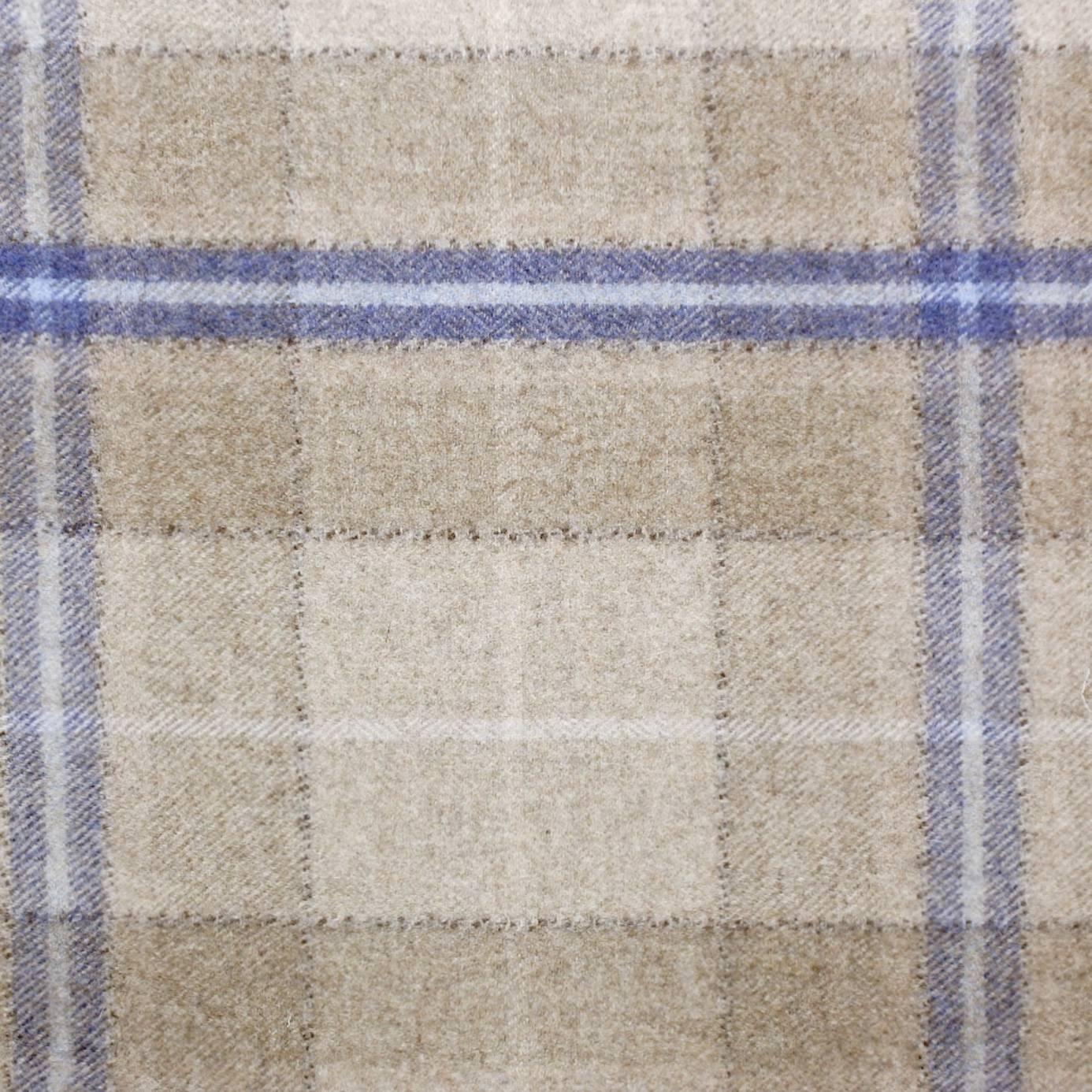 Roman Blinds In Milton Fabrics Indigo Stone 233246