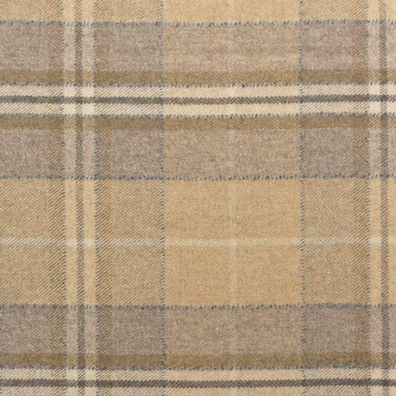 Milton Fabrics Caramel 233251 Sanderson Byron Wool