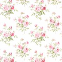 Adele Fabric - Rose/Cream