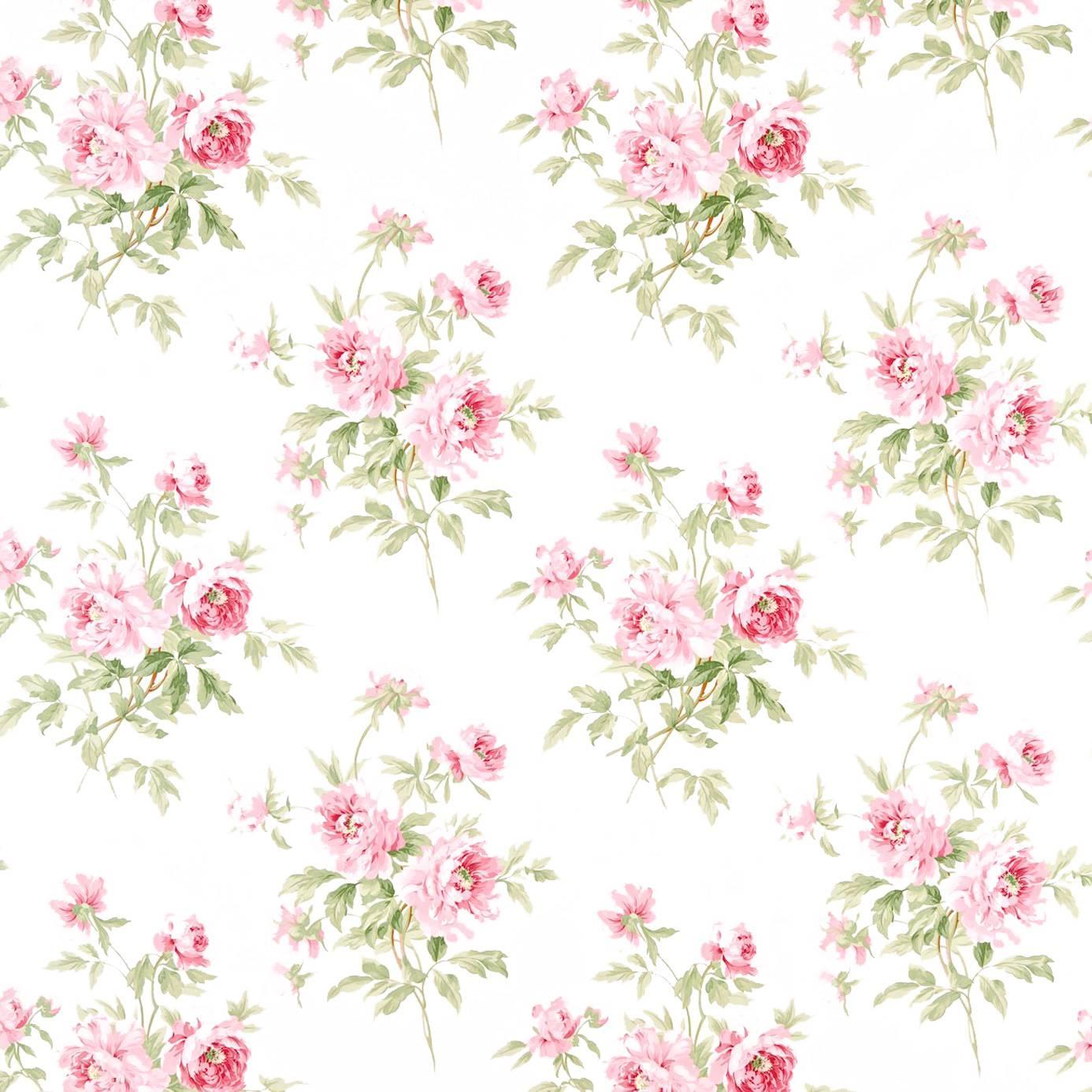 Adele Fabric Rose Cream Dcavad201 Sanderson Caverley