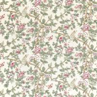 Caverley Fabric - Rose/Pewter