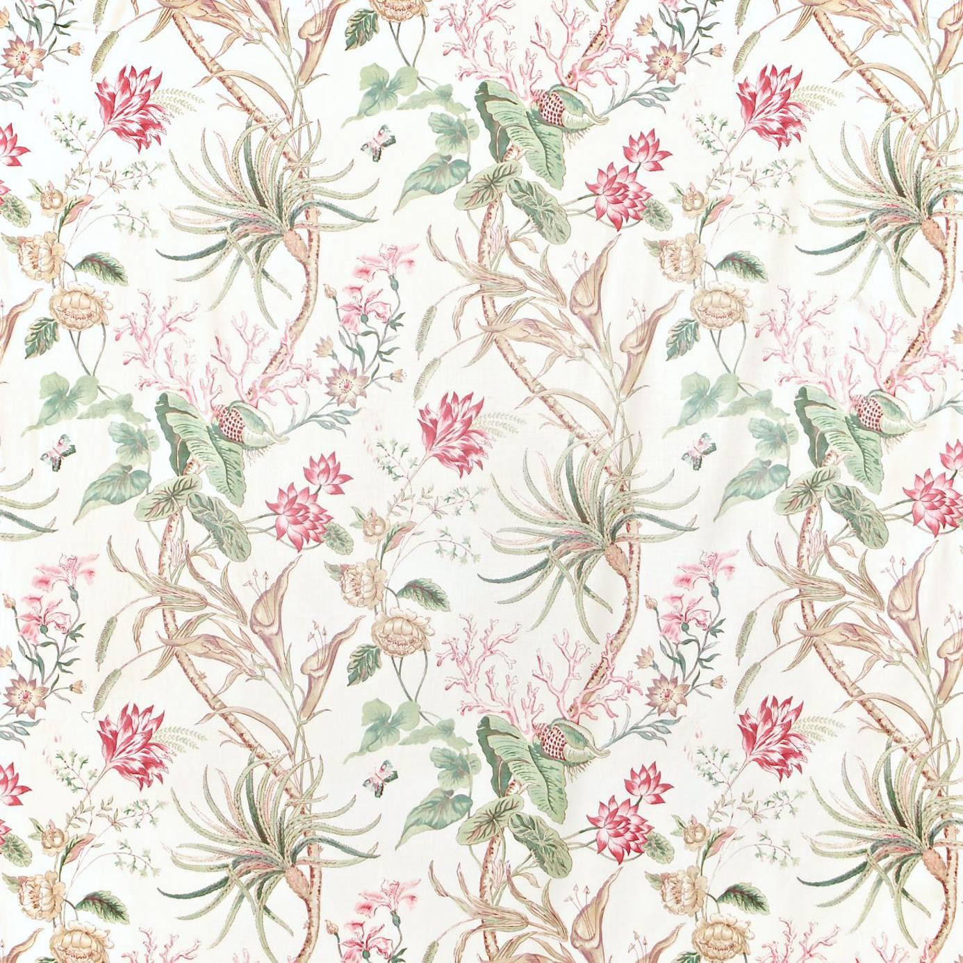 Mauritius Fabric Rose Cream Dcavma201 Sanderson