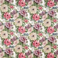 Midsummer Rose Fabric - Lilac/Rose
