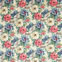 Midsummer Rose Fabric - Antique Rose
