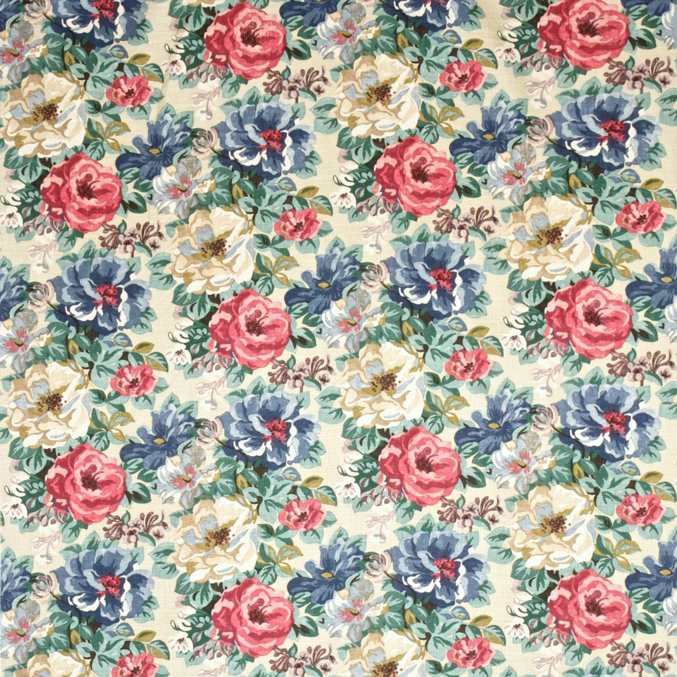 Midsummer Rose Fabric Antique Rose Dcavmi202