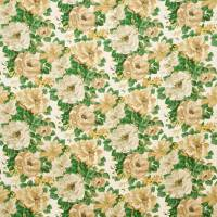 Midsummer Rose Fabric - Forest