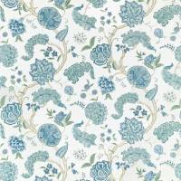 Palampore Fabric - Blue