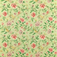 Porcelain Garden Fabric - Rose/Fennel