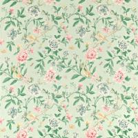 Porcelain Garden Fabric - Rose/Duckegg