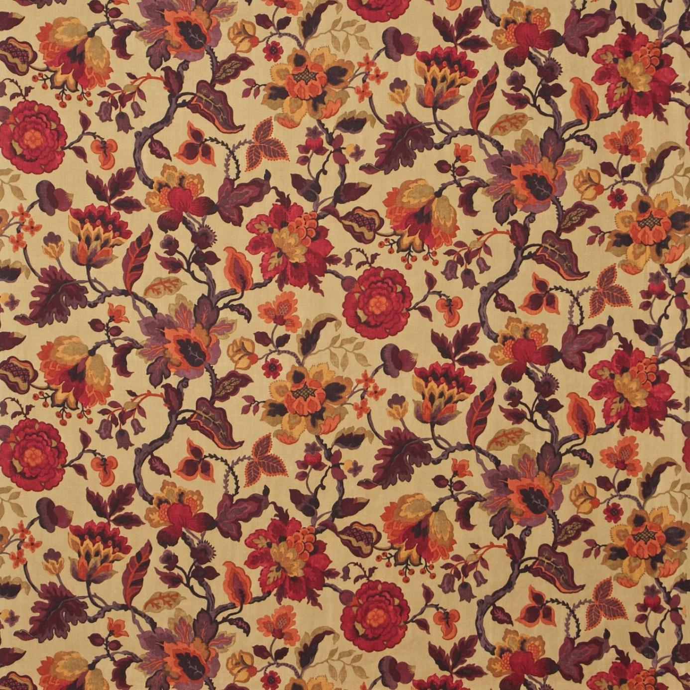 amanpuri fabric old gold aubergine dcouam201. Black Bedroom Furniture Sets. Home Design Ideas