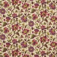 Amanpuri Fabric - Mulberry/Olive