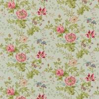 Elouise Fabric - Eggshell/Pink