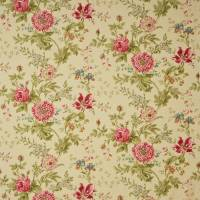 Elouise Fabric - Willow/Pink
