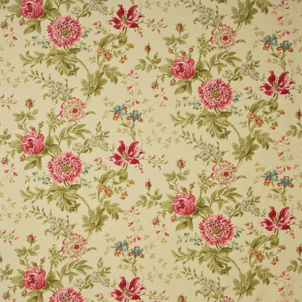 Elouise Fabric Willow Pink Dcouel202 Sanderson