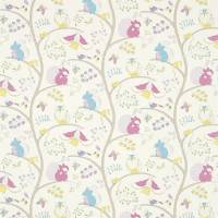 Going Batty Fabric - Pink/Blue
