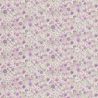 Posy Floral Fabric - Lavender