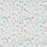 Alphabet Zoo Fabric - Neapolitan