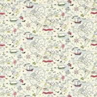Treasure Map Fabric - Vanilla